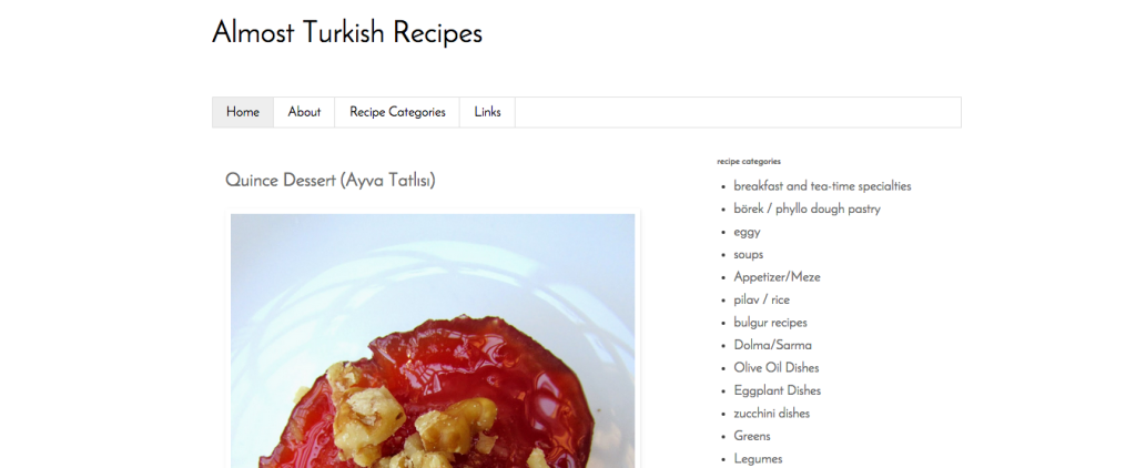 almost turkish recipes
