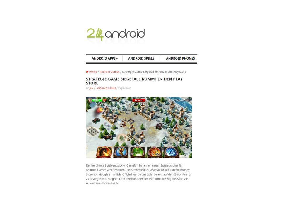 android - Gameloft