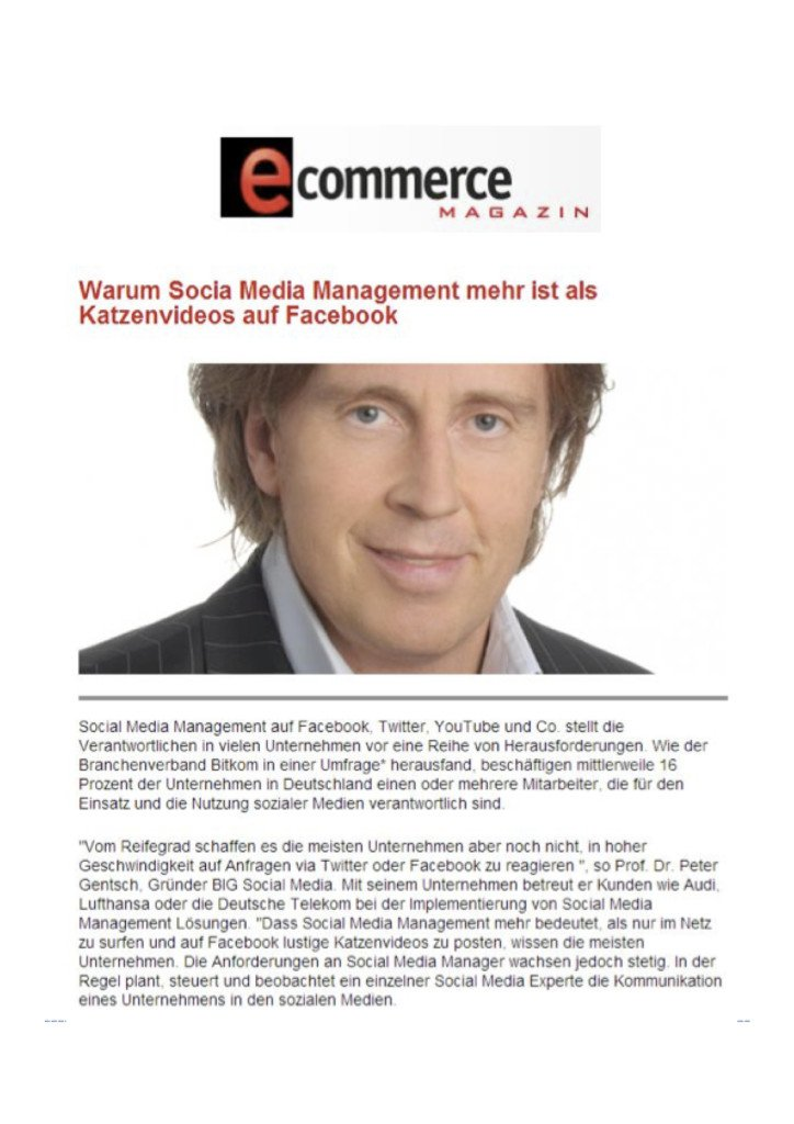 BIG e commerce Magazin 724x1024 - BIG Social Media
