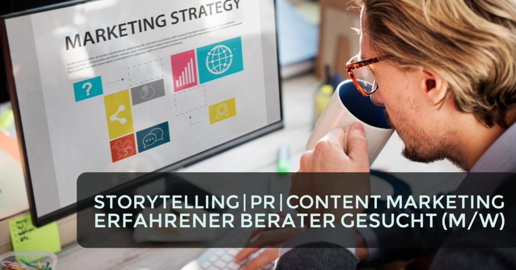 Berater PR Content Marketing Storytelling