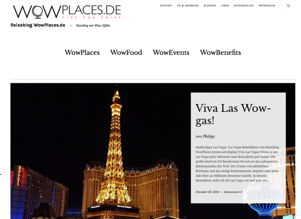 wowplaces