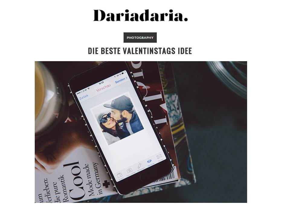 Screenshot von dariadaria.com