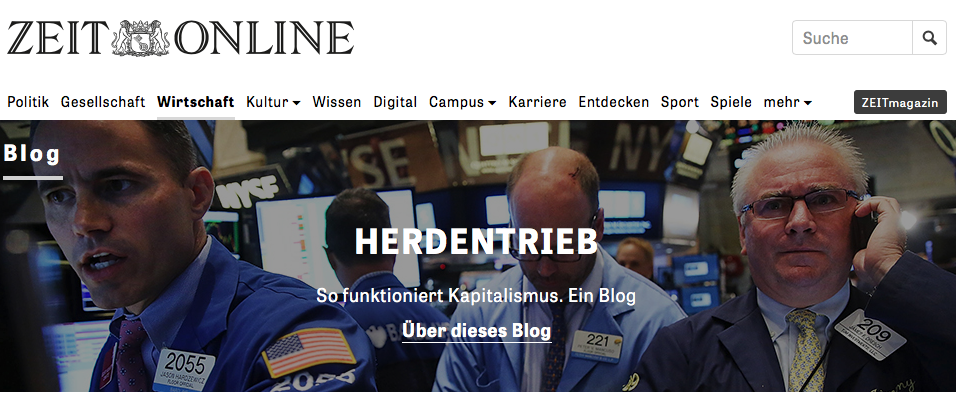 Screenshot Blog Herdentrieb