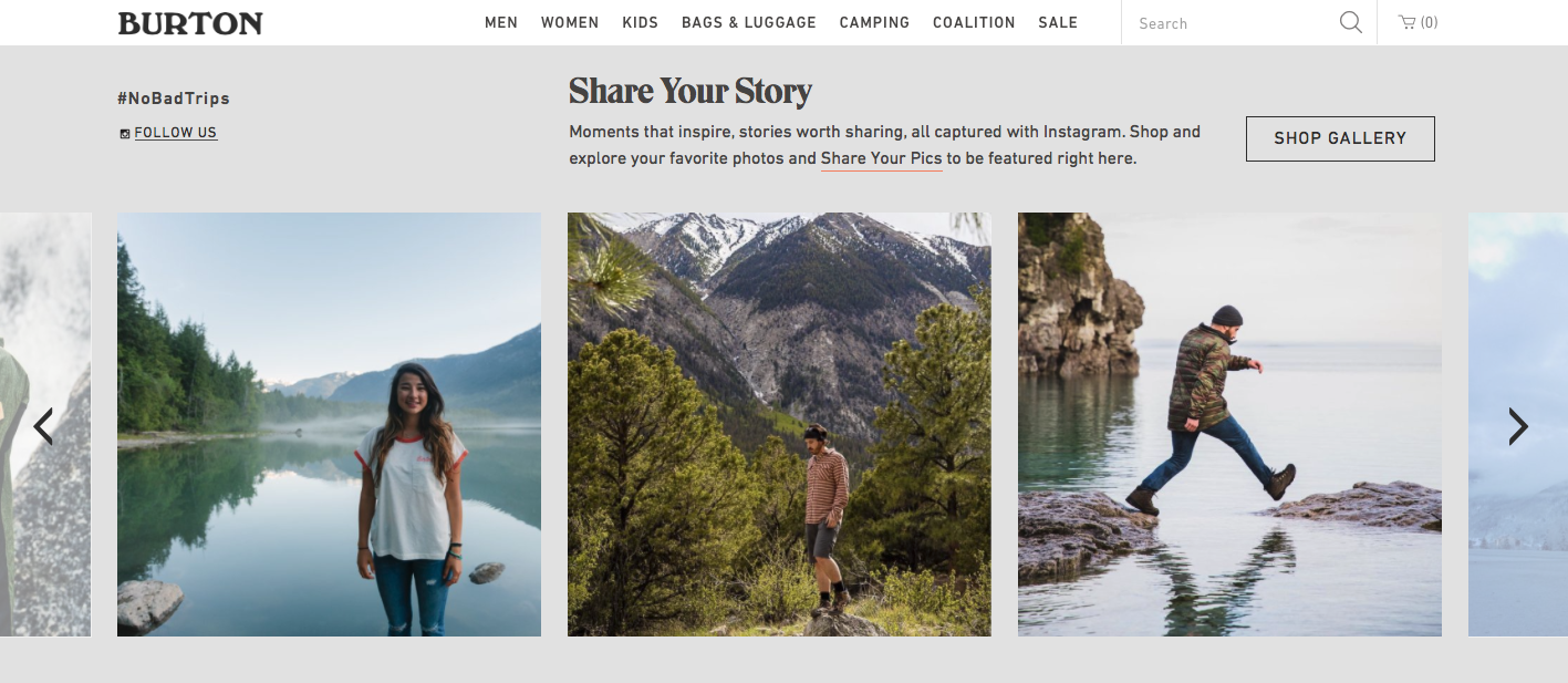 burton - A Plastic Flute for 60 Euros: Successful E-Commerce with Storytelling