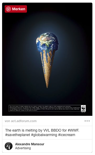 Pinterest Pin art.adforum.com The earth Melting