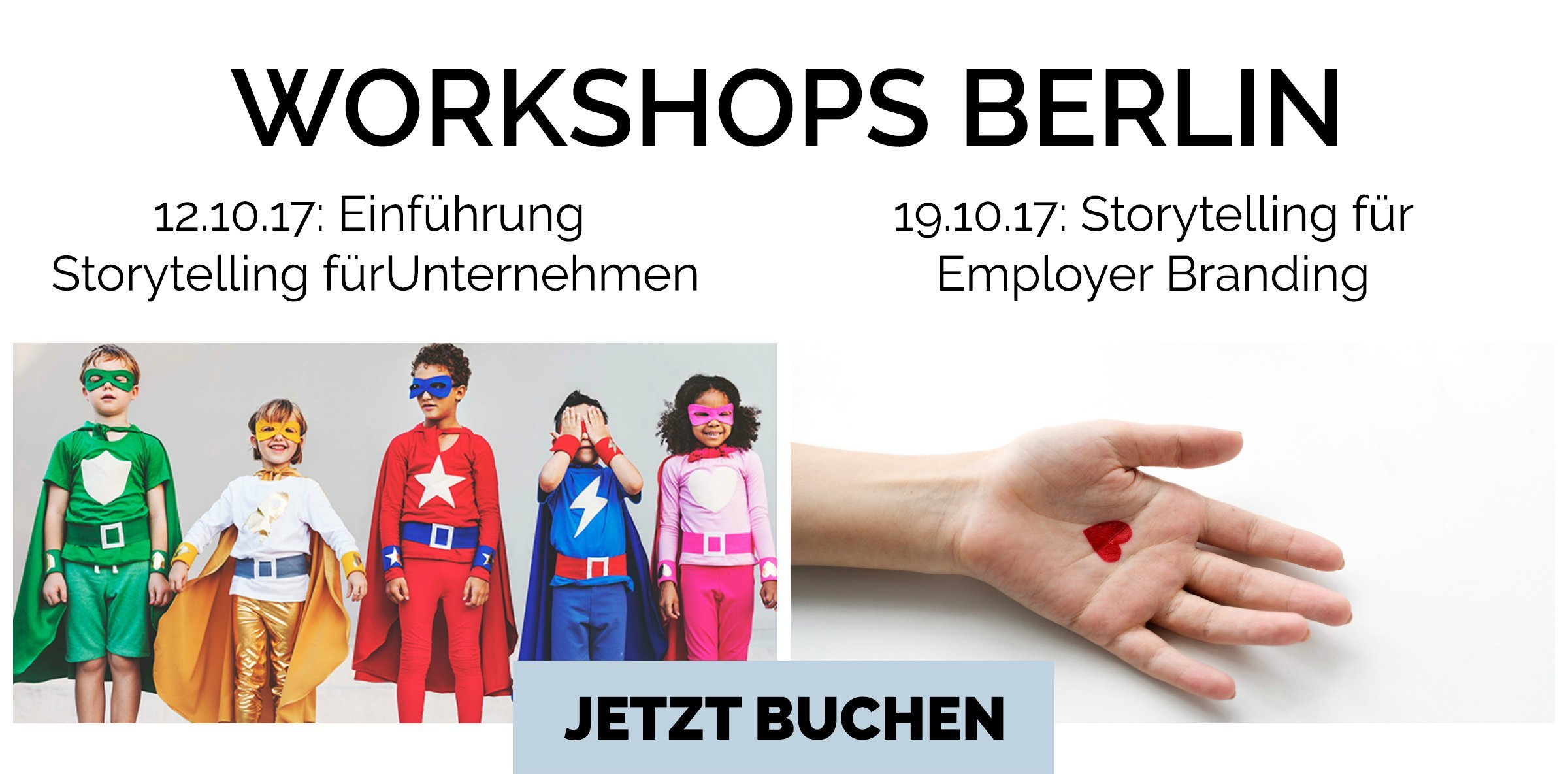 Storytelling Workshop Termine Berlin