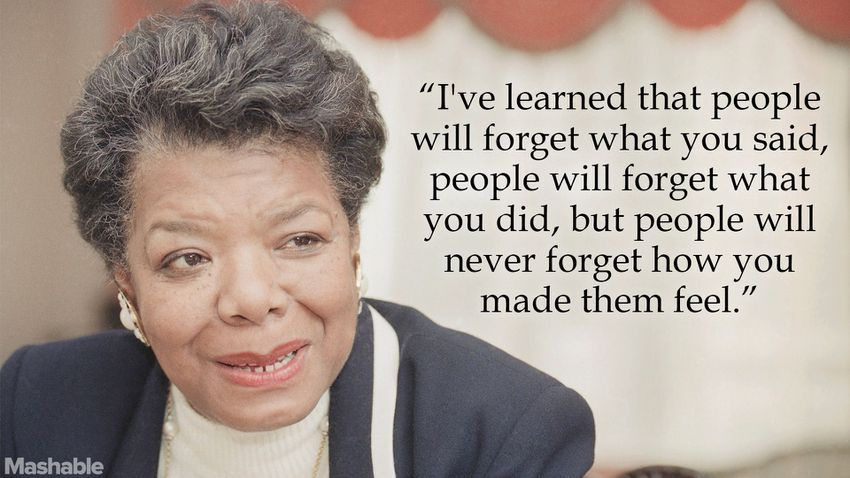 Maya Angelou - How to Find Your Brand Voice
