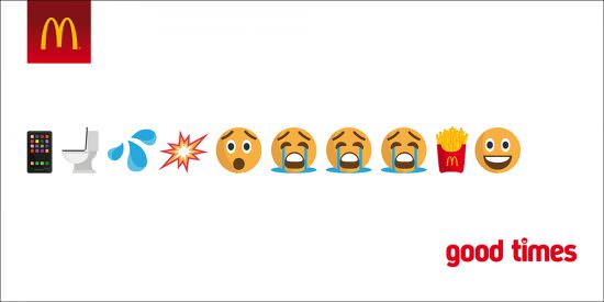 """Mcd Emoji 1 - Brand Storytelling with Emojis - From """"Snackable Content"""" to Independent Stories"""