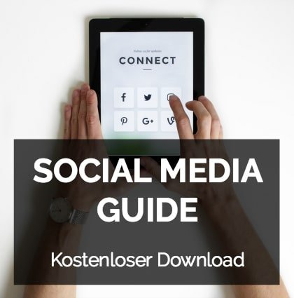 Kostenloser Download: Social Media Guide