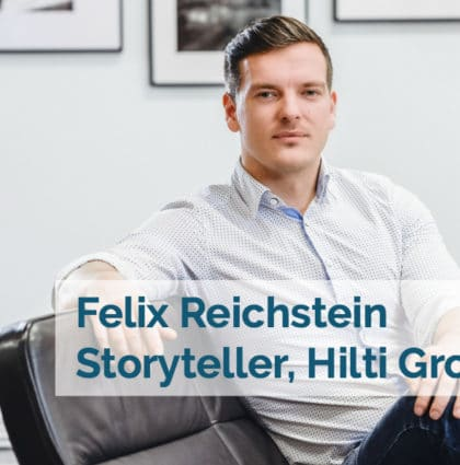 Pressing Forward: Storytelling at Hilti Group