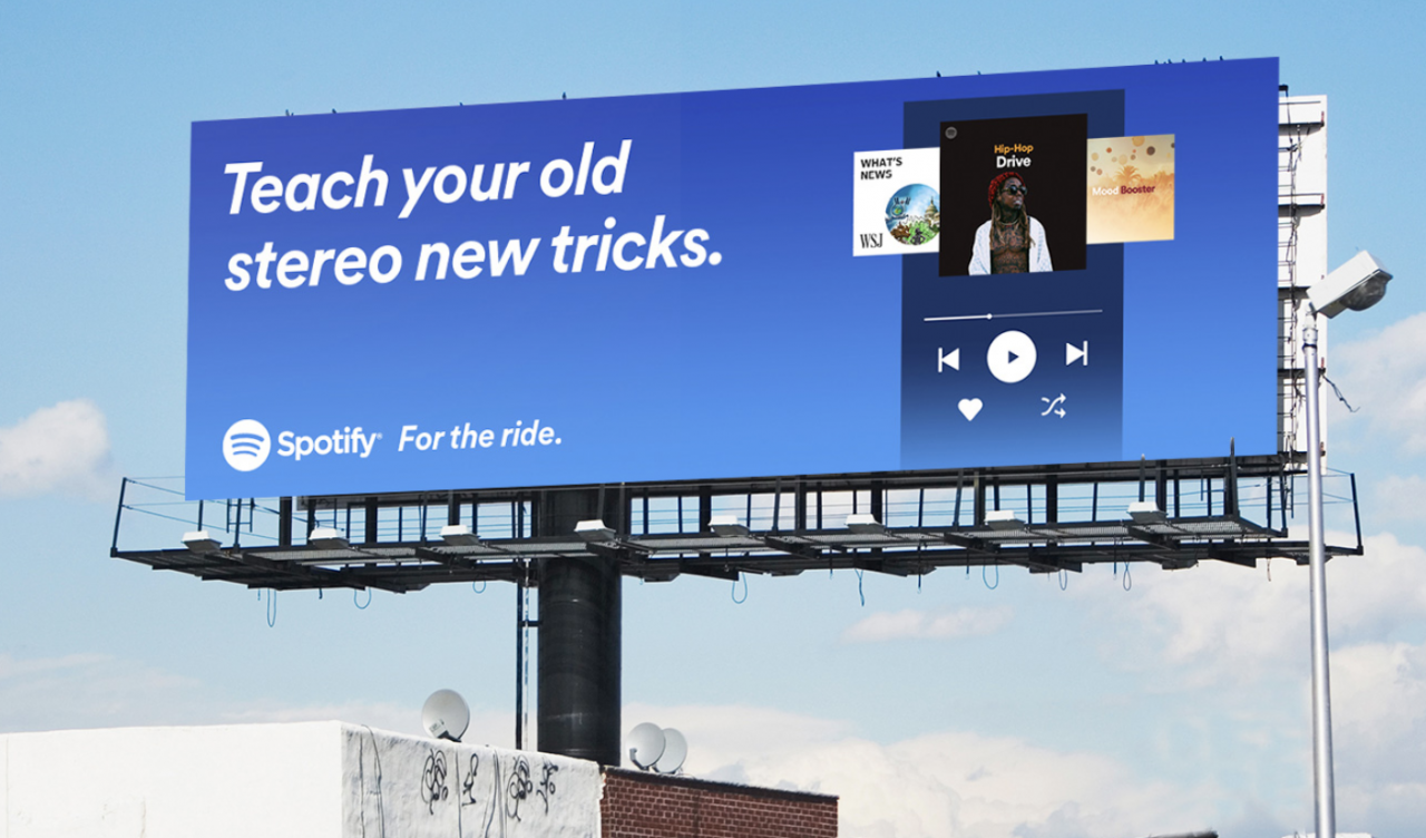 Spotify Plakat Teach your old stereo new tricks