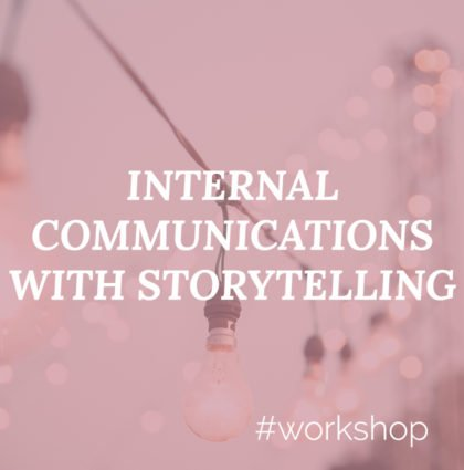 Workshop Internal Communications with Storytelling