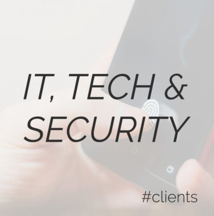 IT, Tech & Security