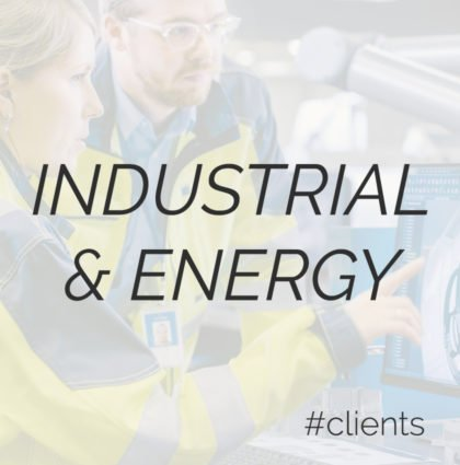 Industrial, Manufacturing & Energy